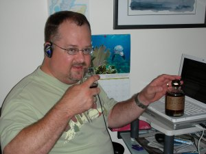 Little old me getting ready to take a Skype call from Drew.